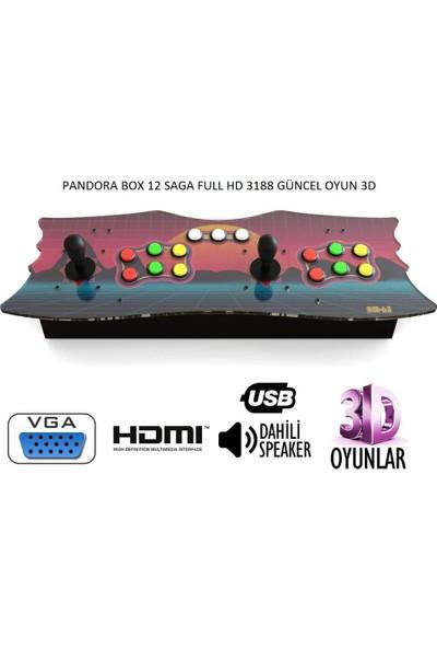 Saga Pandora Box 12 3188 Güncel Oyun 3D Full HD