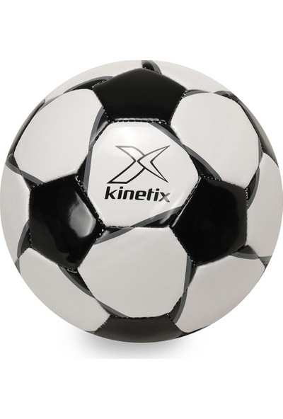Kinetix Enzo Siyah Unisex Futbol Topu