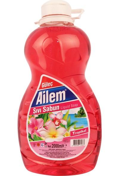 Güleç Ailem Sıvı El Sabunu 2 lt Pembe