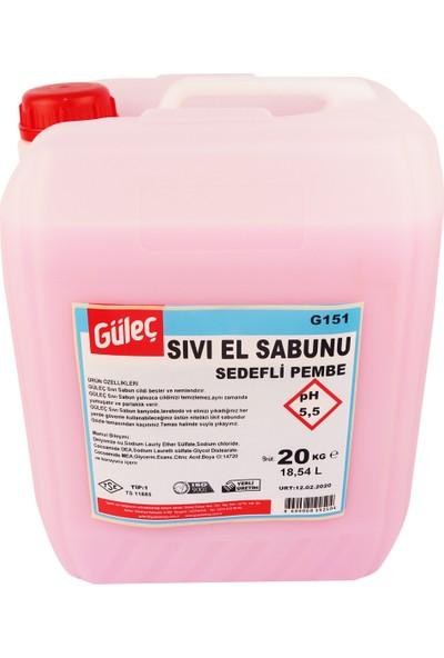Güleç Sıvı El Sabunu Pembe Sedefli 20 kg