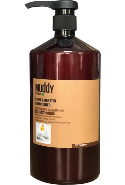 Muddy B-Tox & Keratin Onarıcı Saç Kremi 1000 ml