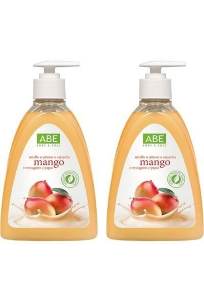Abe Mango Özlü Sıvı El Sabunu 500 ml + 500 ml