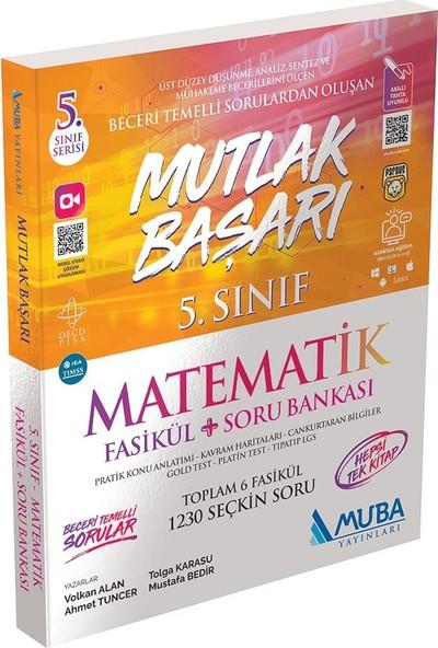Muba Yayınları Mutlak Başarı 5.sınıf Matematik Fasikül + Soru Bankası