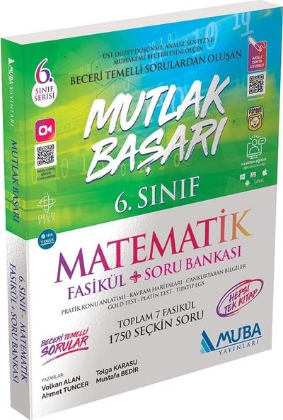 Muba Yayınları Mutlak Başarı 6.sınıf Matematik Fasikül + Soru Bankası