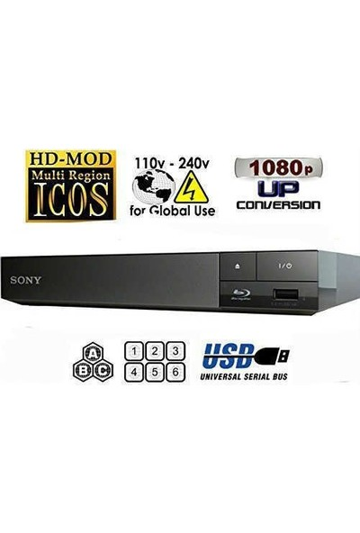 Sony BDP-S1500 Blu Ray Oynatıcı