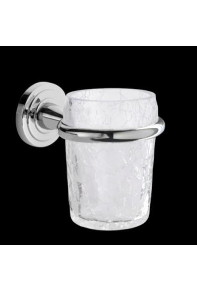 Bagno & Association Duvara Monte Diş Fırçalık Krom