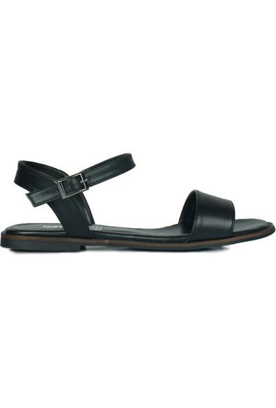 Loggalin 785206 014 Kadın Siyah Sandalet