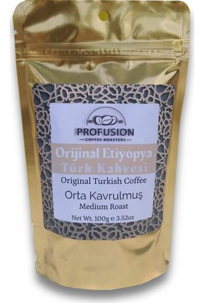 Profusion Coffee Taze Kavrulmuş Geleneksel Türk Kahvesi 100 gr