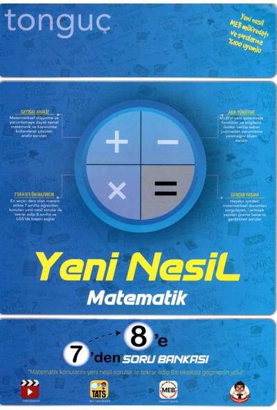 Tonguç Akademi 7'den 8'e Soru Bankası Yeni Nesil Matematik Soru Bankası