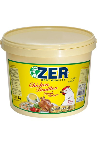 Zer Tavuk Bulyon Toz 5 kg Kova