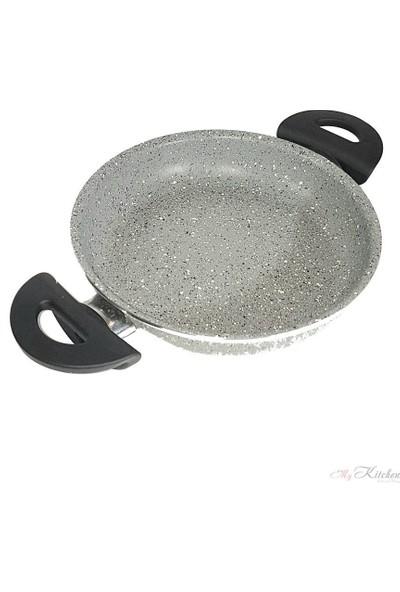 Esse Granit Sahan Tava Gri 20 cm Essenso