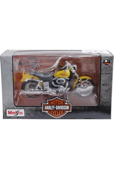 Maisto Harley Davidson 1977 Fxs Low Rider 1:18 Model Motosiklet