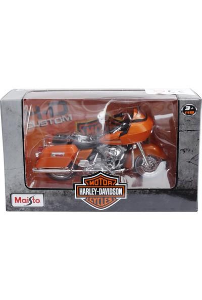 Maisto Harley Davidson 2002 Fltr Road Ride 1:18 Model Motosiklet