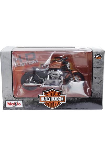 Maisto Harley Davidson 2007 Xl 1200N Nightster 1:18 Model Motosiklet