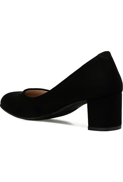 Nine West Lelano Siyah Kadın Klasik Topuklu Ayakkabı