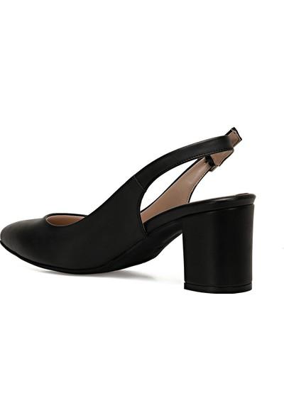 Nine West Lızetto Siyah Kadın Klasik Topuklu Ayakkabı