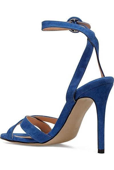 Nine West Tomı Siyah Kadın Topuklu Sandalet