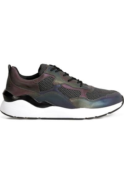 Nine West Reflect Koyu Gri Kadın Sneaker Ayakkabı