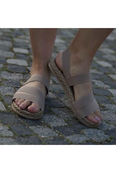 Conforcity Kadın Bej Sandalet