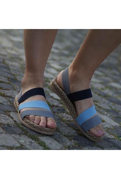 Conforcity Kadın Gri Sandalet