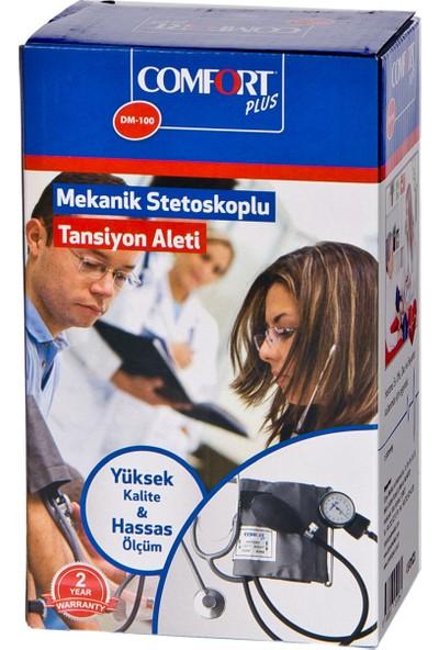 Comfort Plus Dm 100 Manuel Steteskoplu Tansi̇yon Aleti̇ Mekani̇k