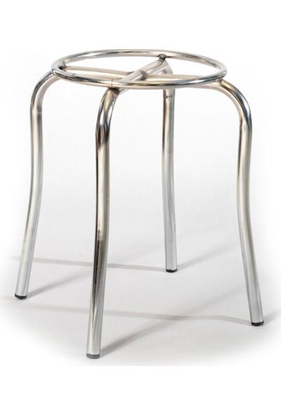 Ekip Shop Tabure Mutfak Sandalyesi 5 Adet Mor