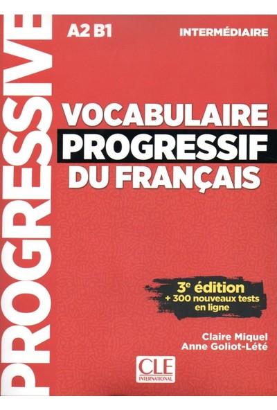 Vocabulaire Progressif Du Francais A2B1