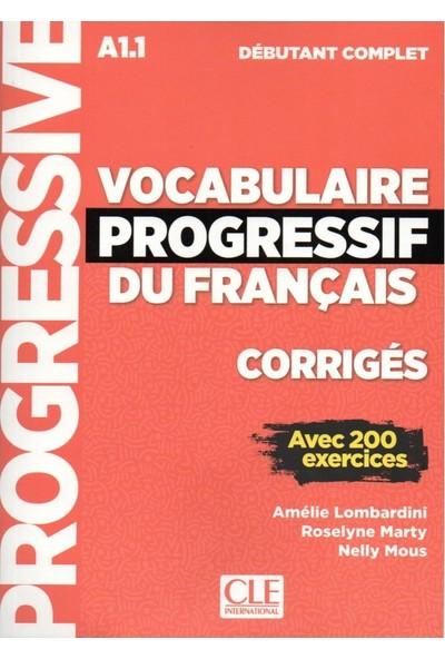 Vocabulaire Progressif Du Francais A1.1