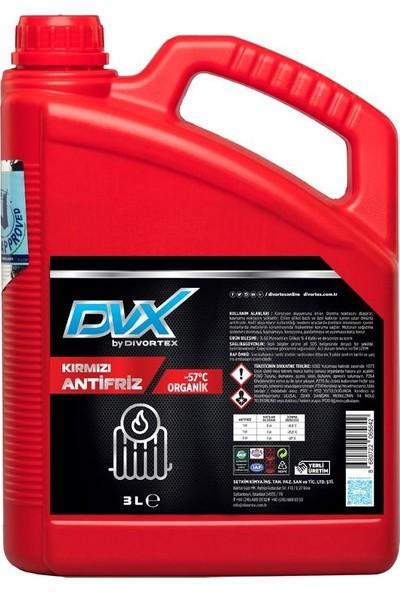 Divortex -57° Organik Kırmızı Antifriz 3 lt