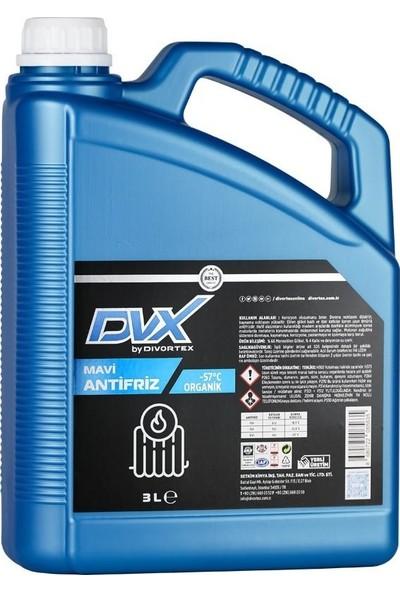 Divortex -57° Organik Mavi Antifriz 3 lt