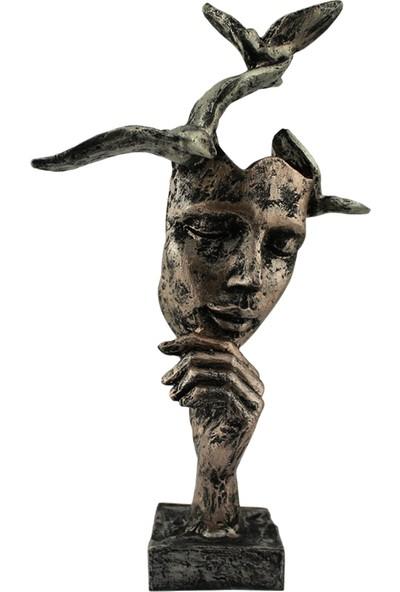 Hunga Kuşlu Mask Biblo Lame