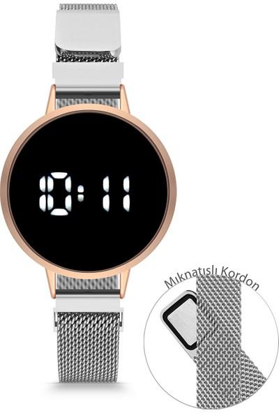 Luis Polo DT1003A-BMH-LED-04 Kadın Dijital Kol Saati
