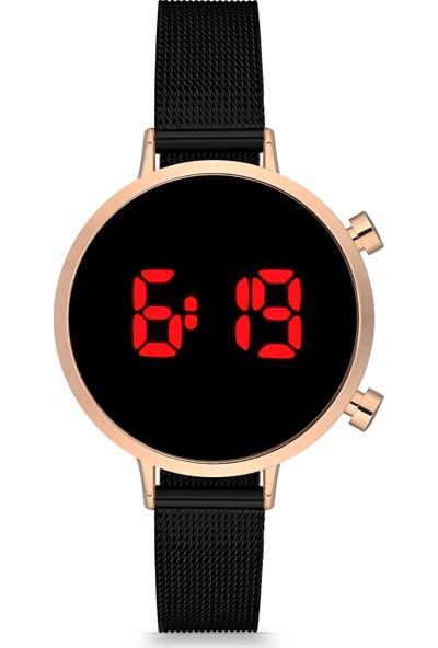 Luis Polo DT1003H-BH-01 Kadın Dijital Kol Saati