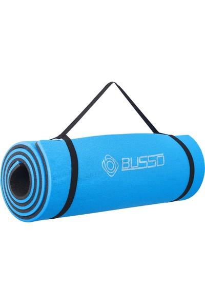 Busso PLT30 1,6 cm Pilates Matı- Mavi