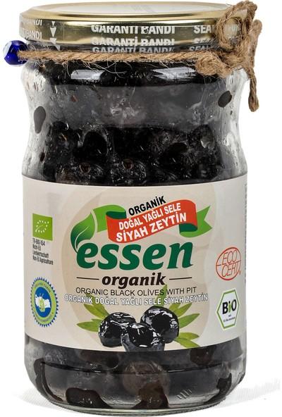 Essen Organik Yağlı Sele Siyah Zeytin Ekstra 660 gr