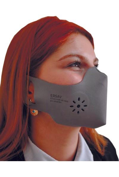 Ersav Üst Düzey Yıkanabilir Maske Yetişkin 5li Set