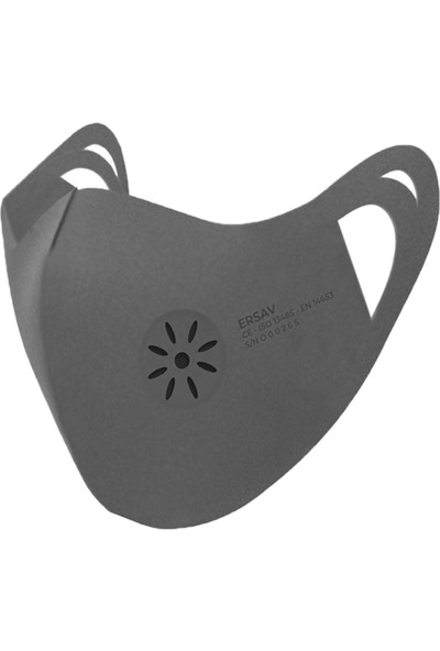 Ersav Üst Düzey Yıkanabilir Maske 4-8 Yaş 5li Set