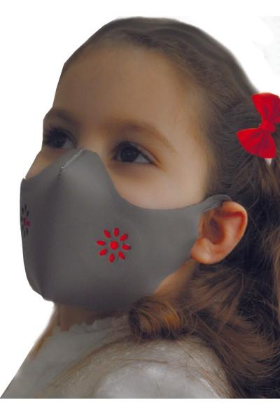 Ersav Üst Düzey Yıkanabilir Maske 9-13 Yaş 5li Set