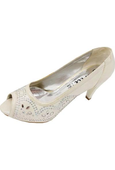 Jena 31117 Platform Topuklu Abiye Kadın Ayakkabı