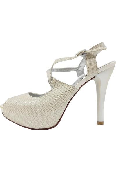 Jena 31127 Platform Abiye Kadın Ayakkabı