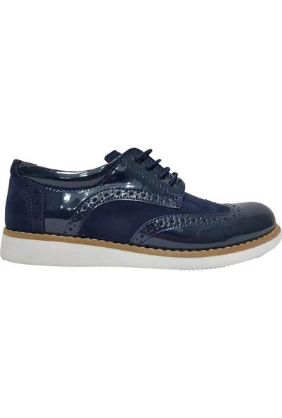 Sarıkaya 3075 Rugan Çift Yüz Erkek Çocuk Ayakkabı