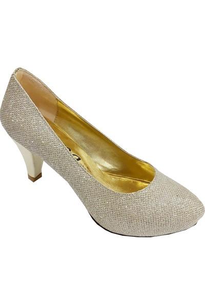 Jena 31140 Topuklu Abiye Kadın Ayakkabı