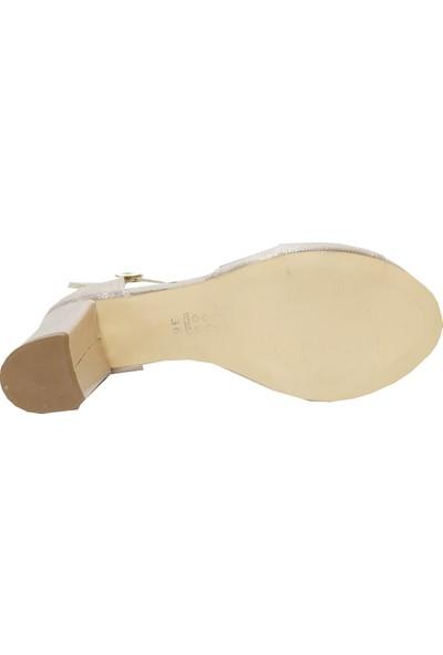Jena 0181 Abiye Taşlı Trend Fashion Kadın Ayakkabı