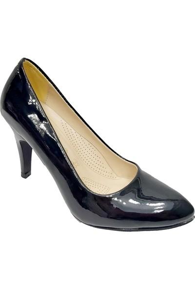 Buket 5522 Rugan Stiletto Kadın Ayakkabı