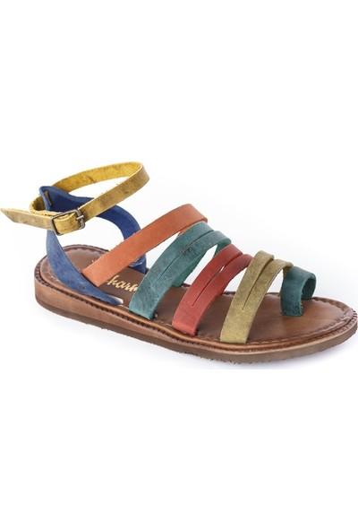 Charmia Kadın Deri Günlük Sandalet 90