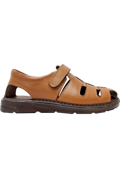 Sultan 209-20 Deri Yumuşak Taban Sandalet