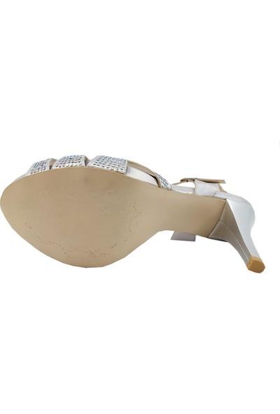 Marco Ferretti 423 Abiye Platform Topuklu Sandalet