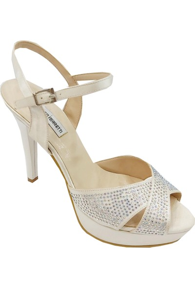 Marco Ferretti 985 Abiye Topuklu Kadın Sandalet