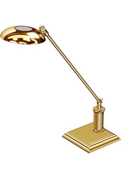 Elcasco 666-L Masaüstü Halojen Masa Lambası Gold