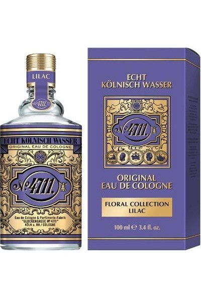 4711 Original Eau De Cologne Floral Collection Lilac Edc 100 ml Kadın-Erkek